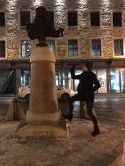 I fight Louis XIV, Quebec City 2019.